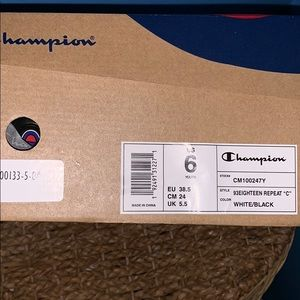 """Champion 93Eighteen Repeat """"C"""" Sneakers"""